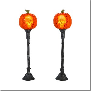 Halloween Evil Pumpkin Lampposts 4033847