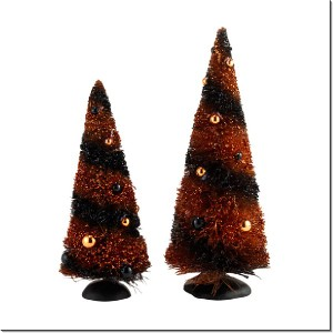 Halloween Sisals Tree Set of 2 4033852