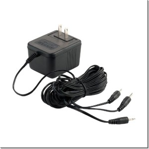 Department 56 AC/DC Adapter Black 4035316