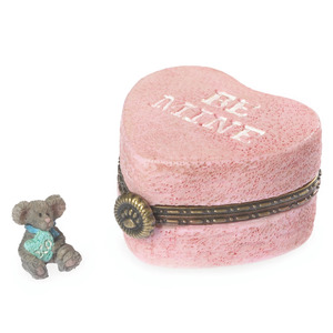 Boyds Bears Candy's Heartbox with Kisses McNibble 4038007