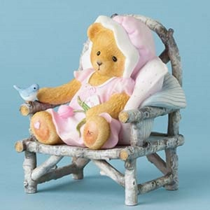 Cherished Teddies Bear Mom Holding Flo 4038065