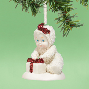 Snowbabies All Wrapped In Bows Ornament 4038105
