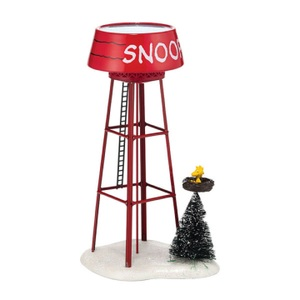 Department 56 Peanuts Snoopy Water Tower 4038645