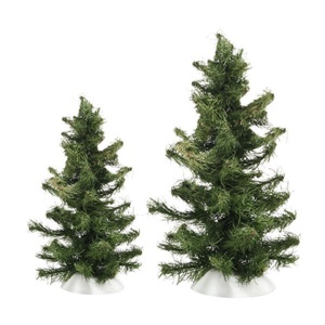 Rugged Spruce Trees Set of 2 4038819