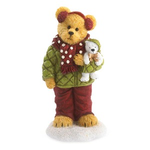 Boyds Bears Haley Goodfriend with Berg All Bundled Up 4041883