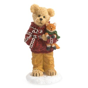 Boyds Bears Cooper Goodfriend with Sly Cozy Companions 4041884