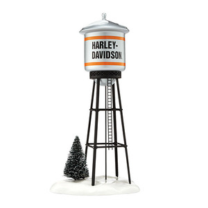 Snow Village Harley Davidson Juneau Ave Water Tower 4042421
