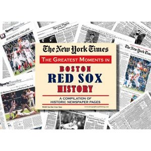 Boston Red Sox New York Times Historic Newspaper Compilation