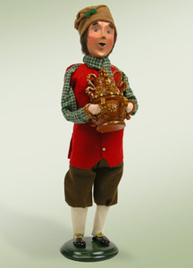 Byers Choice Man with Wassail Pot 491 New 2012
