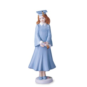 Enesco Growing Up Girls Brunette Graduate 515752