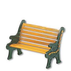 Wrought Iron Park Bench 52302