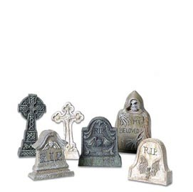 Tombstones 53065 Set of 6