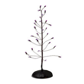Halloween Purple Twinkle Brite Tree 53272