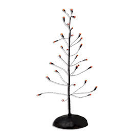 Halloween Orange Twinkle Brite Tree 53273