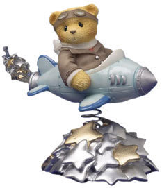 Cherished Teddies Milton The Pilot 542644