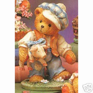 Cherished Teddies Nursery Rhymes Tom Tom Pipers Son