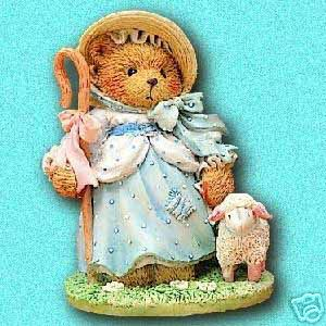 Cherished Teddies Nursery Rhymes Little Bo Peep 624802