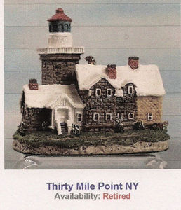 Harbour Light 30 Thirty Mile Point New York Ornament 7044