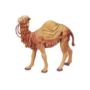 Fontanini Camel With Samel Blanket 5