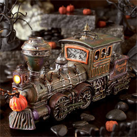 Haunted Rails Engine & Coal Car 80001