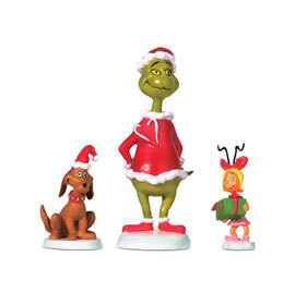 Grinch Who Ville Max and Cindy Lou Who 804152