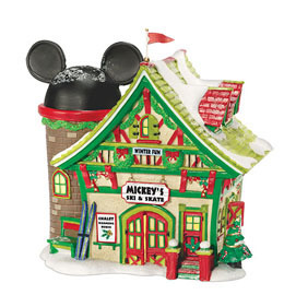 Department 56 Disney Mickeys Ski And Skate 811263