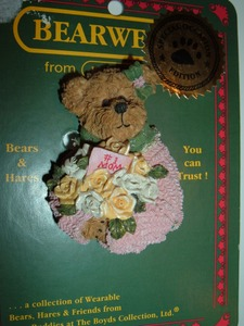 Boyds Bears Pin Momma Bearylove 82551