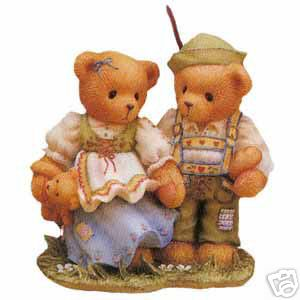 Cherished Teddies Harvey Gigi Hansel and Gretal 302481