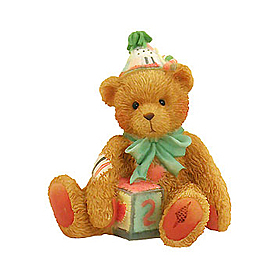 Cherished Teddies Birthday Collection Age 2 911321