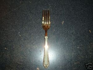 Yamasaki Stainless Fortossimo Bone Gold Dinner Fork