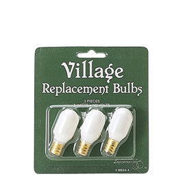Department 56 Village Light Bulbs 6w 120v 99244