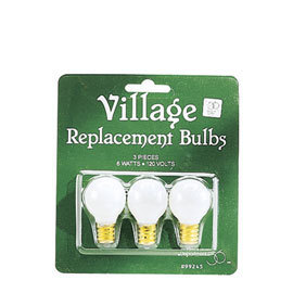 Round Light Bulbs 99245 6w 120v