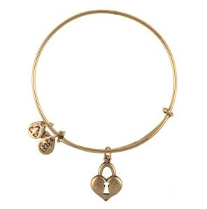Key to my Heart Bangle Rafaelian Gold