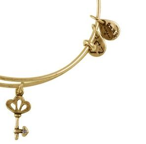 Skeleton Key Bangle Rafaelian Gold
