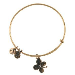 Lucky Clover Bangle Rafaelian Gold