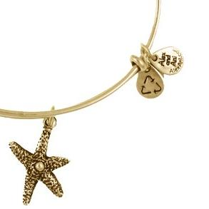 Starfish Bangle Rafaelian Gold