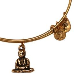 Buddha Bangle Rafaelian Gold