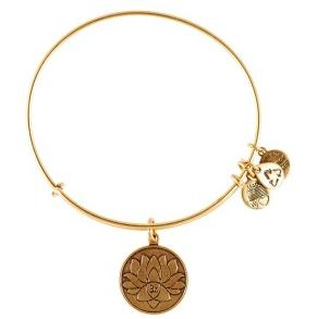 Lotus Peace Petals Bangle Rafaelian Gold