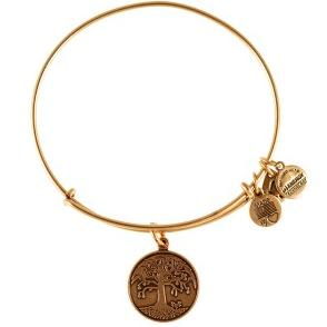Tree of Life Expandable Wire Bangle Rafaelian Gold