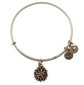 Water Lily Expandable Wire Bangle Rafaelian Silver