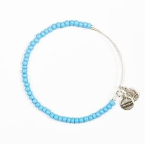 Soleil Sky Blue Bangle Rafaelian Silver