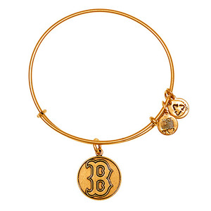 Boston Red Sox Cap Logo Bangle Rafaelian Gold