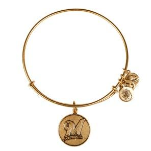 Milwaukee Brewers Cap Logo Bangle Rafaelian Gold