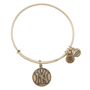 New York Yankees Cap Logo Bangle Rafaelian Silver