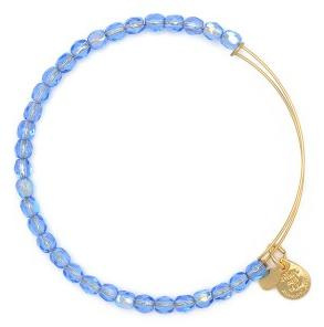 Rock Candy Bangle Sky Blue Gold