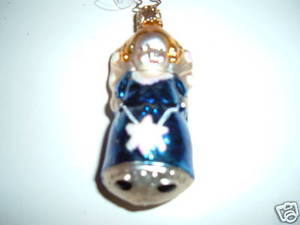 Old World Ornament Blue Angel