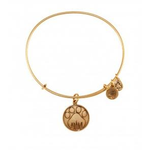 Paw Prints Bangle Rafaelian Gold