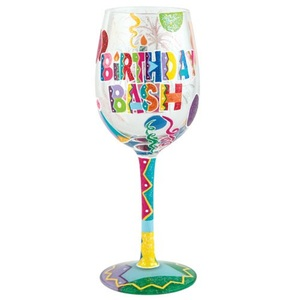 Birthday Bash Wine Glass GLS11-5526H
