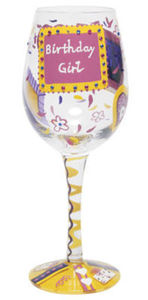 Birthday Girl Wine Glass GLS11-5530R