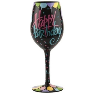Happy Birthday to You Wine Glass GLS11-5533X